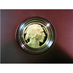 1800. 2008 W Proof American Buffalo One-Quarter Ounce Gold Proof Coin