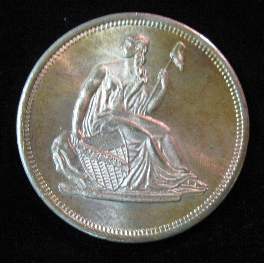 28 Liberty Seated Dollar Design One Troy Ounce 999 Fine