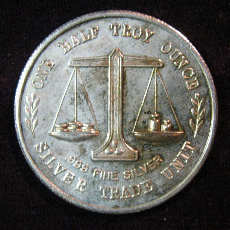 silver trade unit coin