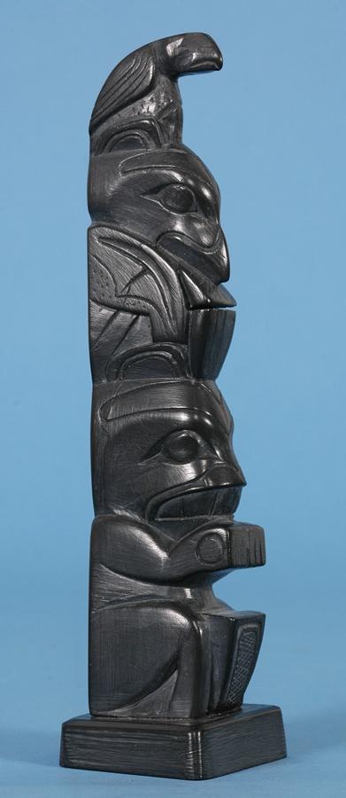 Wooden carvings haida peoples haida gwaii stock photo edit now