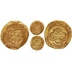 Mexico City, Mexico, cob 8 escudos, 1714J, choice, from the 1715 Fleet.