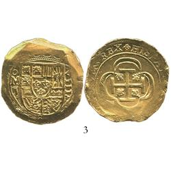 Mexico City, Mexico, cob 8 escudos, 171(5)J, from the 1715 Fleet.