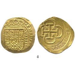 Mexico City, Mexico, cob 8 escudos, (1715J), from the 1715 Fleet.