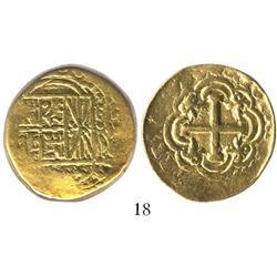 Bogota, Colombia, cob 8 escudos, 1750/49S.