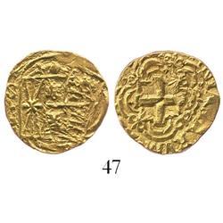 Bogota, Colombia, cob 2 escudos, Ferdinand VI, 175(?)S.