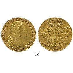Brazil (Rio mint), 6400 reis, John V, 1745-R.