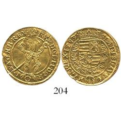 Vienna, Austria (Holy Roman Empire), ducat, Rudolf II, 1589.