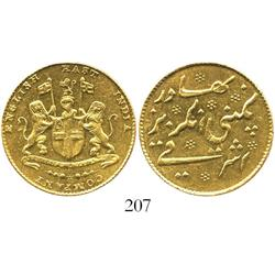 English East India Co., mohur, (181 Fame (1822).9), from the