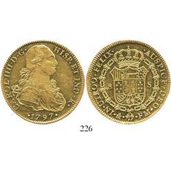 Mexico City, Mexico, bust 8 escudos, Charles IV, 1797FM.