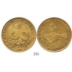 Mexico City, Mexico, 8 escudos, 1830JM.