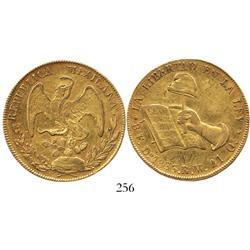 Durango, Mexico, 8 escudos, 1833RM.