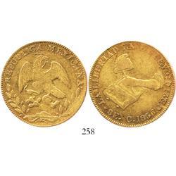 Culiacan, Mexico, 8 escudos, 1856CE.
