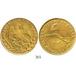 Culiacan, Mexico, 8 escudos, 1862CE.