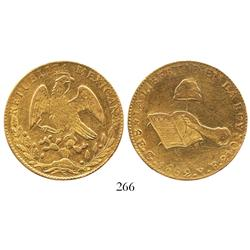 Guanajuato, Mexico, 8 escudos, 1862YE.