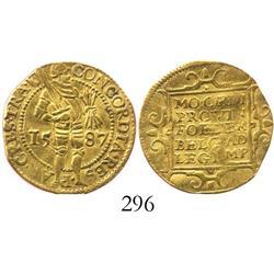 Utrecht, United Netherlands, ducat, 1587.