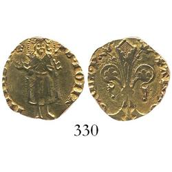 Barcelona (under Aragon), Spain, florin, Pedro III (IV of Aragon) (1387-96).