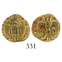 Barcelona (under Aragon), Spain, 1/2 florin, Pedro III (IV of Aragon) (1387-96).