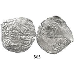 Mexico City, Mexico, cob 4 reales, 165(?)P.