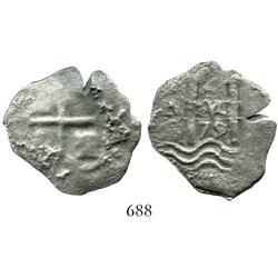 Potosi, Bolivia, cob 4 reales, 1679C.