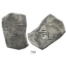 Mexico City, Mexico, cob 8 reales, (16)80(L).