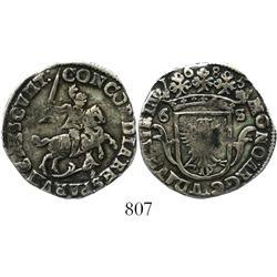 Deventer, United Netherlands, 6 stuivers, 1685.