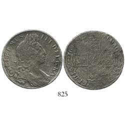 London, England, half crown, William III, 1701.