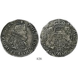 Brabant, Spanish Netherlands (Antwerp mint), portrait ducatoon, Philip IV, 1631, choice.