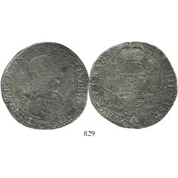 Brabant, Spanish Netherlands (Brussels mint), portrait ducatoon, Philip IV, 1636.