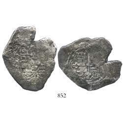 Mexico City, Mexico, cob 8 reales, (1)706(J), rare.