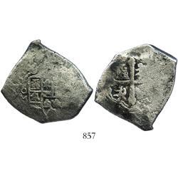 Mexico City, Mexico, cob 8 reales, (1)713(J).