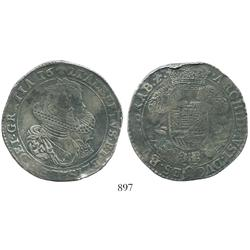 Brabant, Spanish Netherlands (Brussels mint), portrait ducatoon, Albert and Isabel, 1621, choice and