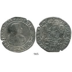 Brabant, Spanish Netherlands (Antwerp mint), portrait ducatoon, Philip IV, 1662, choice.