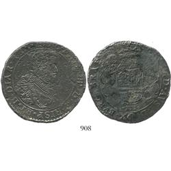 Brabant, Spanish Netherlands (Antwerp mint), portrait ducatoon, Philip IV, 166(?).