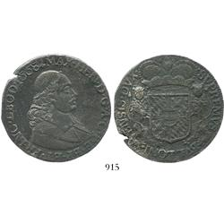 Liege (Bishopric), Spanish Netherlands, ducatoon, Maximilian Henry, 1668, choice and rare as from th