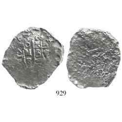 Mexico City, Mexico, cob 8 reales, 1732(?)F.