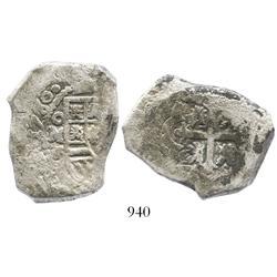 Mexico City, Mexico, cob 8 reales, 1730F.