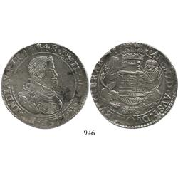 Brabant, Spanish Netherlands (Antwerp mint), portrait ducatoon, Philip IV, 1648, choice.