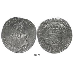 Brabant, Spanish Netherlands (Antwerp mint), portrait ducatoon, Albert and Isabel, 1618.