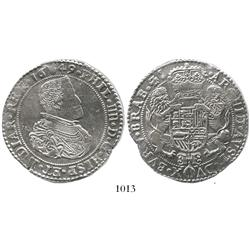 Brabant, Spanish Netherlands (Antwerp mint), portrait ducatoon, Philip IV, 1649, choice.
