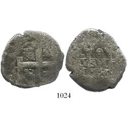 Lima, Peru, cob 8 reales, 1726(M).
