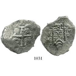 Potosi, Bolivia, cob 8 reales, 1726Y (Louis I).