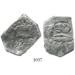 Guatemala, cob 8 reales, 1740J.