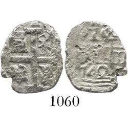 Lima, Peru, cob 1 real, 1742(V).