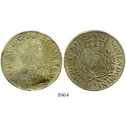 France (Paris mint), ecu, Louis XV, 1726-A.