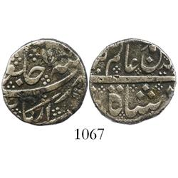 India (Mughal Empire), rupee, (1700s), rare provenance.