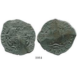 Potosi, Bolivia, cob 8 reales, 1662(?)E.