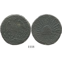 Mexico (mint uncertain), 8 reales, 1860, assayer not visible, very rare as the only coin ever recove