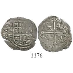 Mexico City, Mexico, cob 1 real, Philip III, assayer F.