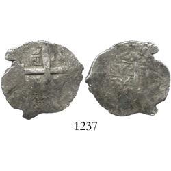 Lima, Peru, cob 2 reales, 1734N.