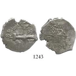 Lima, Peru, cob 2 reales, 1739V.